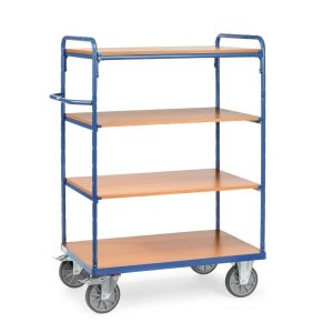Heavy Duty Shelf Trolley 4 Tier 1000 x 600 x 1552mm High