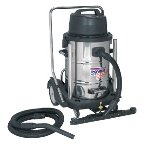 Industrial Wet and Dry Vacuum Cleaner 77ltr Stainless Drum 2400W/230V