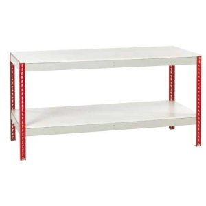 Just Workbench with Melamine Top & Full Under shelf 1800 w x 900 d