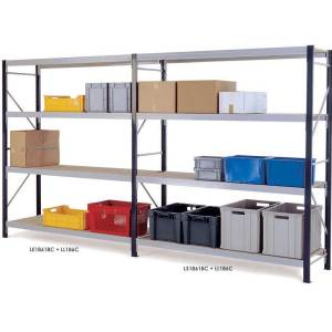 Longspan Shelving Extension Bays 1800 x 1800 x 450 3 Chipboard Shelves