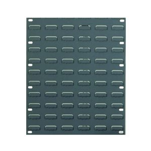 Louvre Panels 641 high x 457 wide for wall mounting plastic bins, Pack of 2 panels