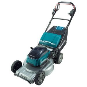 Makita Makita DLM533PG2 Brushless Self-Propelled Aluminium Deck Lawn Mower 53cm (with 2 x 6.0Ah Batteries and DC18RD Twin Port Charger)