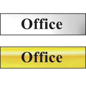 Office Sign - POL (200 x 50mm)