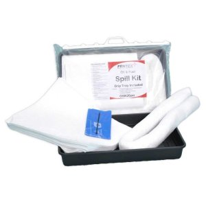 Oil & Fuel Spill Kit with drip tray included - 20 litre