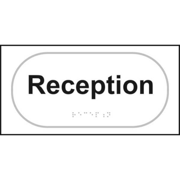 Reception Braille Sign