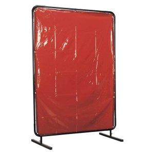 Sealey Workshop Welding Curtain & Frame 2.4m x 1.75m - BS EN 1598