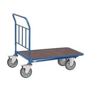 Single Ply Deck Cash And Carry Trolley 850 x 500mm - 400kg Capacity
