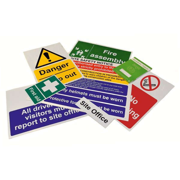 Site Sign Selection B