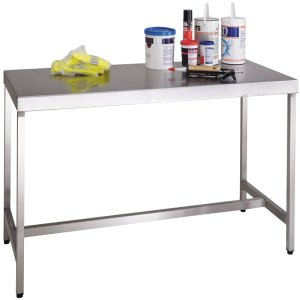 Stainless Steel Workbenches 1200 x 750 with lower shelf