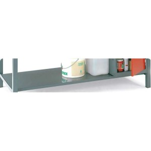 Steel Lower Shelf for Engineers Workbenches for 1800w x 750d bench