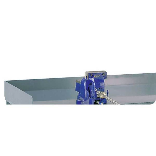 Steel Retaining Lip for Engineers Workbenches 75h for 1200w x 600d