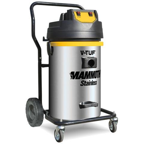 V-TUF V-TUF MAMMOTH Stainless Steel Industrial Wet & Dry Vacuum Cleaner (230V)