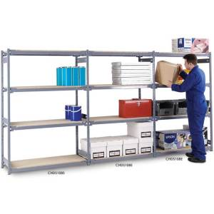 Widespan Shelving Extension Bay 1830 x 915 x 915 4 Chipboard Shelves