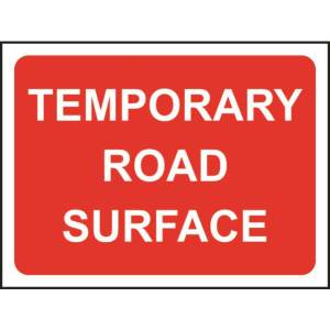 Zintec 600x450mm Temporary Road Surface Road Sign with Frame