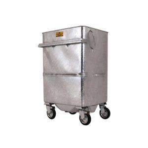 940L Chamberlain Galvanised Wheelie bin