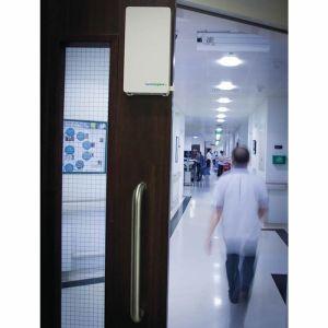 Door Handle Sanitiser Unit Including Sanitiser Cartridge
