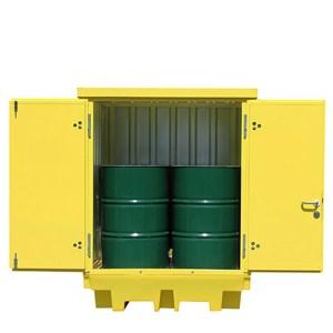 Hard Covered Drum Storage Pallet