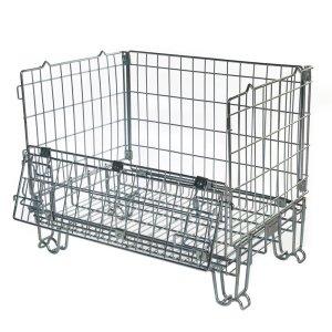 Hypacage Mesh Pallet Cage - 350kg capacity - 670h x 800w x 600d
