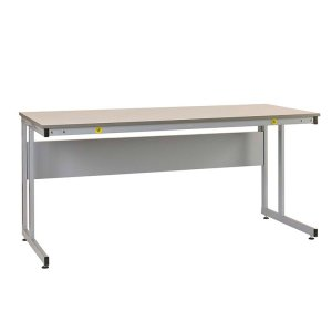 Manufacturing Cantilever Workbenches, ESD laminate top, 840 x 1500 x 600