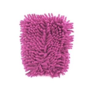 Microfibre Cleaning Glove - Pink