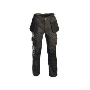 Roughneck Clothing Black & Grey Holster Work Trousers Waist 32in Leg 31in