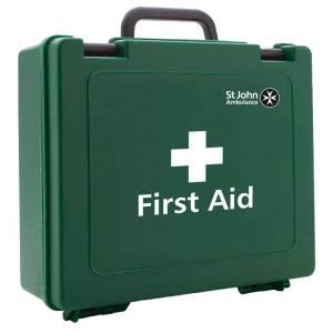Statutory Green Box Medium Workplace First Aid Kit