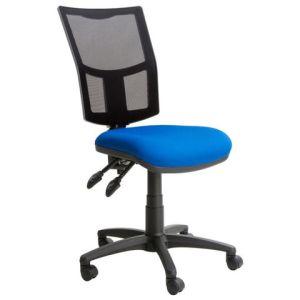 Steelco Haddon HA030 Mesh Back Operator Chair - Blue/Back