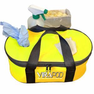 Virapod Emergency Sanitising Kit 2 - Yellow Bag