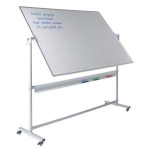 Write-on Revolving Mobile Whiteboards, 1200 x 1800