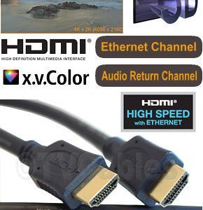 Best Hdmi Cable High Speed 1.8m with Ethernet Channel Audio Return