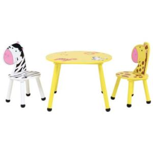Jungle Safari Play Table With Two Chairs
