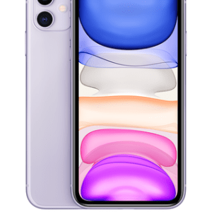 Apple iPhone 11 64GB Purple at £29 on Red with Entertainment (24 Month contract) with Unlimited mins & texts; 6GB of 5G data. £57 a month.