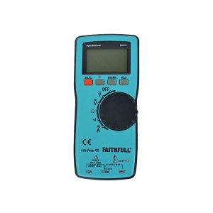 Faithfull EM3722 Auto-Range Digital Multimeter