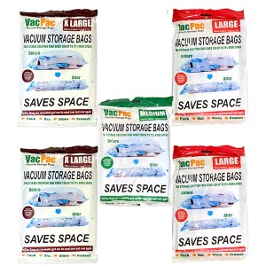 Vacuum Storage Bag Set - Pack of 5