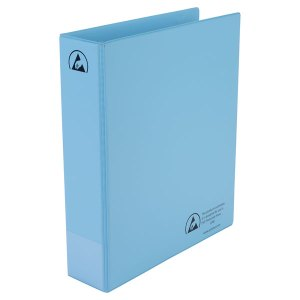 Antistat 105-0016 A4 Antistatic ESD Ring Binder 2 x 50mm Rings