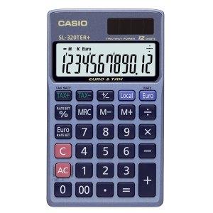 Casio SL-320TER+-SK-UP 12 Digit Pocket Calculator