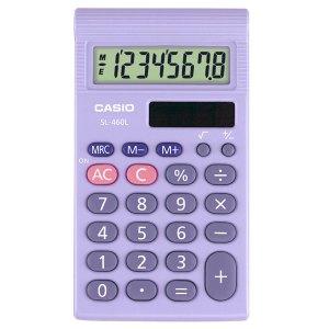 Casio SL-460L-S-UP Pocket Calculator
