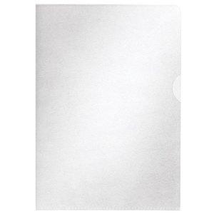 Centra Clear Plastic Wallet Cut Flush Folder A4 2 Openings 65 Micr...