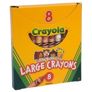 Crayola Multicultural Crayons - Pack of 8