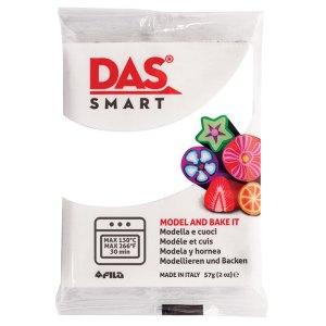 DAS 321001 Smart Oven-Bake Clay 57g (2x 28.5g) White