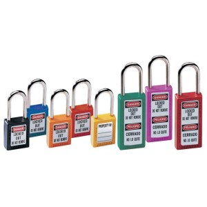 Master Lock 410 44mm Zenex Safety Lockout Padlock Red