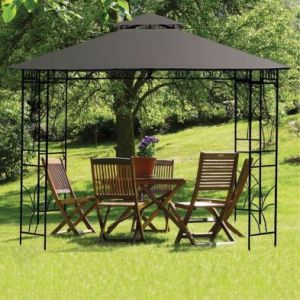 Merion Gazebo Replacement Cover Charcoal