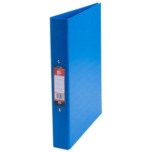 Rapid Blue Plastic Ring Binder - A4 Pack 10