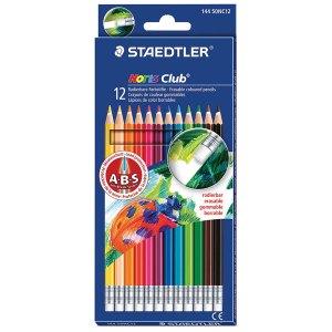 Staedtler Noris Club Erasable Coloured Pencils Pack of 12