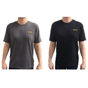 Stanley Clothing T-Shirt Twin Pack Grey & Black - M