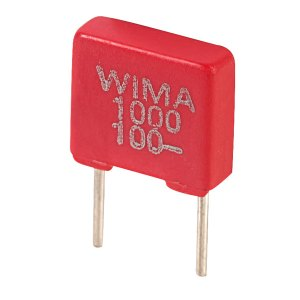 Wima FKS2D011001A00MS FKS2 1000PF ±20% 100V Radial Polyester Capacitor