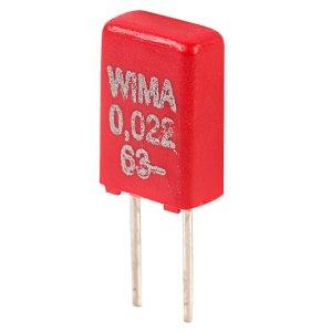 Wima MKS0C022200B00MS 22nf 63V Mks02 Mini Polyester Capacitor