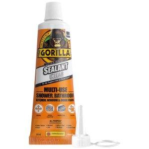 Gorilla Glue 1144301 Gorilla Mould Resistant Sealant Clear Tube 80ml