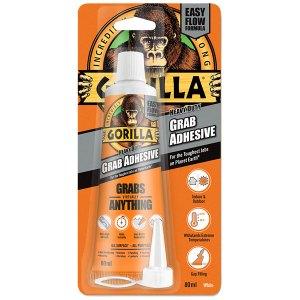 Gorilla Glue 2044301 Gorilla Heavy-Duty Grab Adhesive White 80ml
