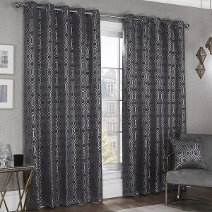 Hartford Lined Eyelet 90 Inch Curtains